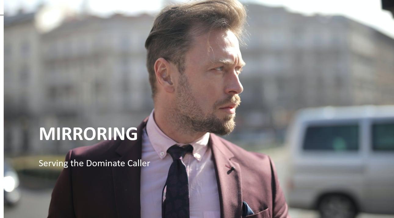 Mirroring the Dominate Customer